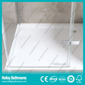 Stainless Steel Hardware Aluminum Waterproof Bar Tempered Glass Shower Door-Se707c pictures & photos