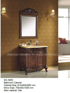 Bathroom Furniture Bathroom Cabinet with Wash Basin (MC-3605) pictures & photos