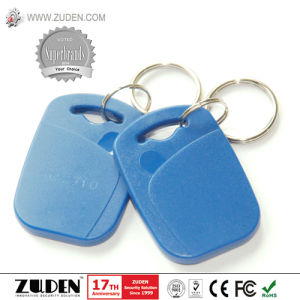 Printing 125kHz Tk4100 Proximity RFID Keyfob for Access Control pictures & photos
