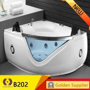 Fashion Bathroom Sanitary Ware Acrylic SPA Massage Bathtub (KB211) pictures & photos