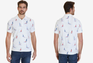 Classic Fit Printed Polo Shirt pictures & photos