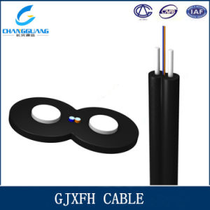High Quality Indoor Butterfly Type FTTH Drop Cable GJXFH/Gjxh