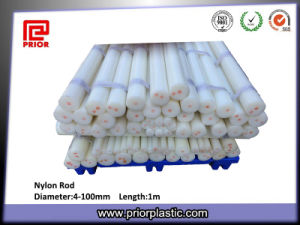 White Nylon Rod with High Tensile Strength pictures & photos