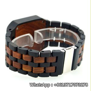 New Environmental Protection Japan Movement Wooden Fashion Watch Bg149 pictures & photos