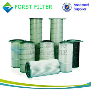 Forst Cylindrical Cartridge Filter for Inlet Air and Gas Turbine pictures & photos