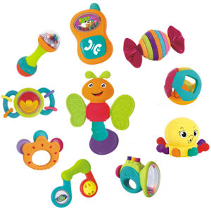 Lovely Baby Toy Plastic Baby Rattle H0895090) pictures & photos