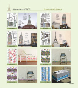Fancy Cartoon Wall Sticker for Decoration (GL-S001) pictures & photos