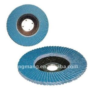 Blue Zirconium Oxide Flap Disc pictures & photos