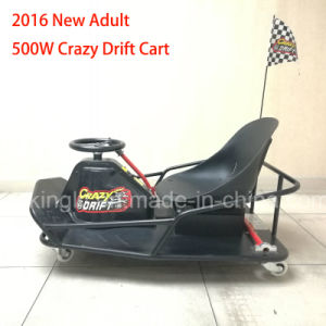 China Manufacture 500W Electric Razor Crazy Drift Go Cart pictures & photos