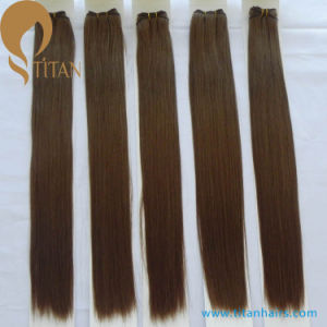 Double Drawn Brazilian Virgin Remy Human Hair pictures & photos