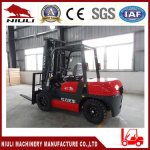 4ton Forklift with Japanese Engine Hydraulic Transmission, Powershift pictures & photos