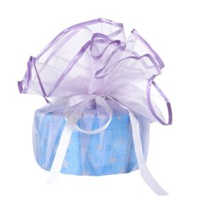 Light Purple Organza Wedding Favor Gift Bag pictures & photos