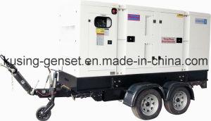 Trailer Diesel Sound Proof Generator/Diesel Silent Genset/Mobile Trailer Genset pictures & photos
