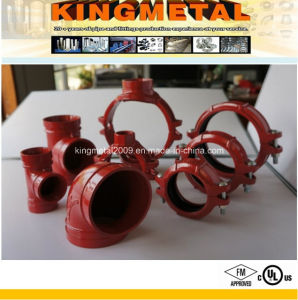 ISO/FM/UL Fire Protection Grooved Fittings Grooved Coupling pictures & photos