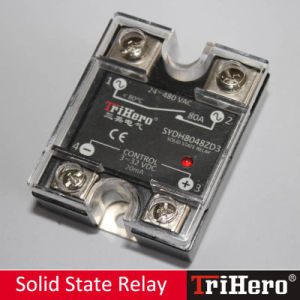 80A DC/AC Single Phase Solid State Relay SSR pictures & photos