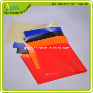 Coated Banner Tent Fabric Laminated PVC Tarpaulin pictures & photos