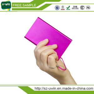 Mini Super Slim Credit Card Portable Power Bank pictures & photos