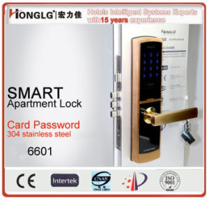 Honglg Security Door Armoured Door Electronic Password Lock (HF6601) pictures & photos