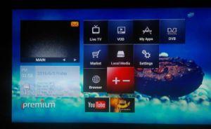 Ipremium I9 Amazing Amlogic Quad Core TV Box Combine Satellite Receiver with Free IPTV pictures & photos