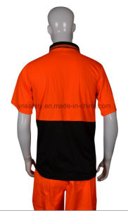 High Visibility Reflective Polo T Shirt pictures & photos