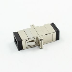 SC/PC Simplex Metal Fiber Optical Adapter with Flange pictures & photos