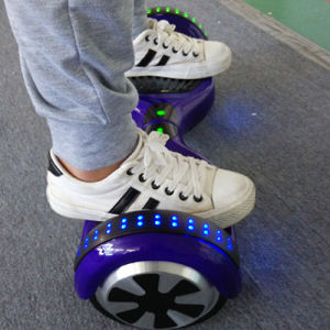 M011 Purple 6.5 Inch 44000mAh Smart Balance Wheel/Hoverboard with Bluetooth/LED/Remote pictures & photos