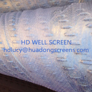 Stainless Steel 304 6′′5/8 Bridge Slot Screen for Water Well Sand Control pictures & photos
