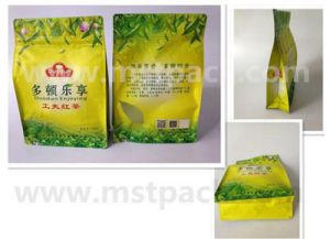 Gravure Printing Flat Bottom Bag for Tea pictures & photos
