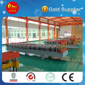 Color Roof Sheet Roll Forming Machine pictures & photos