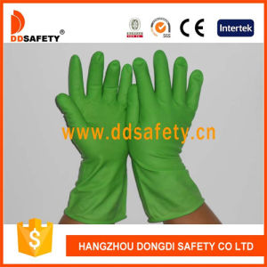 Ddsafety 2017 Green Latex Household Gloves pictures & photos