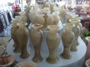 Marble Flower Vase for Garden Stone (LAU17) pictures & photos