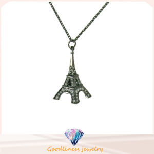 Hot Factory Direct Sale Eiffel Tower 925 Sterling Silver jewelry Pendant Necklace (N6717) pictures & photos