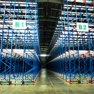Electric Mobile Shuttle Shelving/Racking for Warehouse pictures & photos