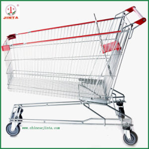 210L Big Capacity Asian Metal Shopping Trolley (JT-E10) pictures & photos