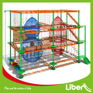 Children Indoor Adventure Theme Playground High Ropes Course for Kids pictures & photos