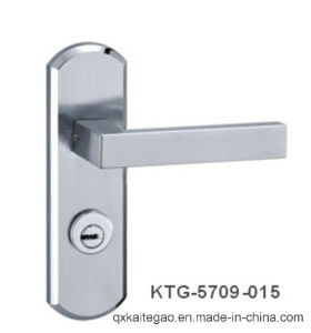 High Quality Satin Finish Stainless Steel Plate Handle (KTG-5709-015) pictures & photos