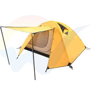 Inflatable Double Layer Camping Tent / Waterproof and Breath Camping Tent