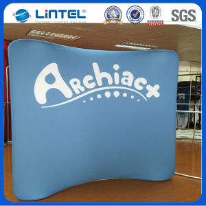 8FT Arch-Shape Tension Fabric Backwall with Printed Graphic (LT-24) pictures & photos