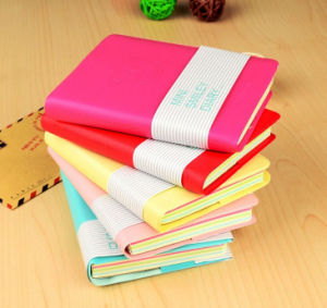 Mini Leather Notepad with Sleeves pictures & photos
