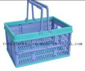 Small Size Folding Plastic Basket (FB001B-1) pictures & photos