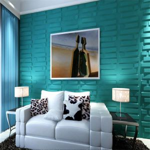 china cheap high gloss pvc material 3d wall decorative wall panels