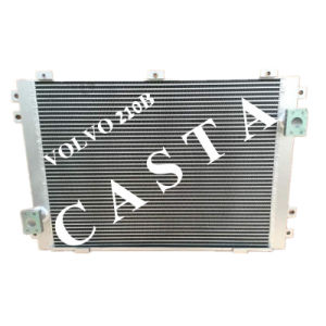 Volvo Ec 210b Excavator Oil Cooler Aluminum Radiator Assy pictures & photos