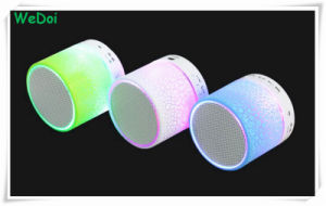 Colorful LED Nightlight Wireless Bluetooth Speaker with Cheap Cost (WY-SP01) pictures & photos