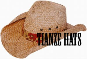 Langya Straw Cowboy Hat pictures & photos
