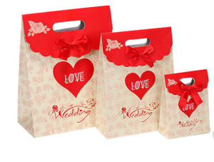 Cheap Paper Bag Printing Service (jhy-007) pictures & photos