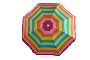 Deluxe Umbrella, Beach Umbrella, Sun Umbrella, Fibreglass Rib, Polyester Umbrella pictures & photos