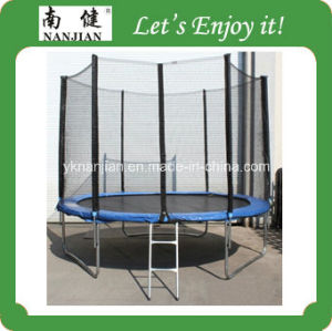 Mobile Bungee Cheap Gymnastics Equipment for Sale with Outside Net and Ladder pictures & photos