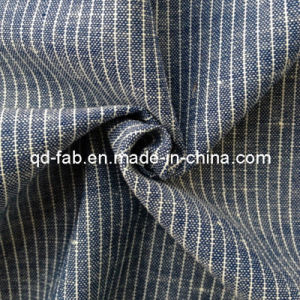 Cotton/Linen Yarn Dyed Shirting Fabric (QF13-0765) pictures & photos