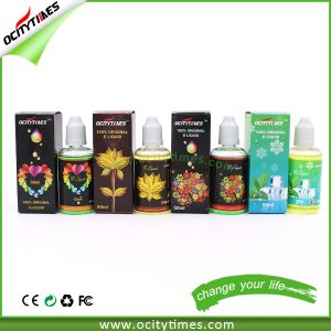 Custom Label 10ml/20ml/30ml/50ml Electronic Cigarette E Liquid pictures & photos