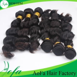 Wholesale Unprocessed Virgin Indian Hair Remy Human Hair Weft pictures & photos